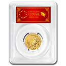 2020 Australia 1/4 oz Gold Lunar Mouse MS-70 PCGS (FS, Red Label)